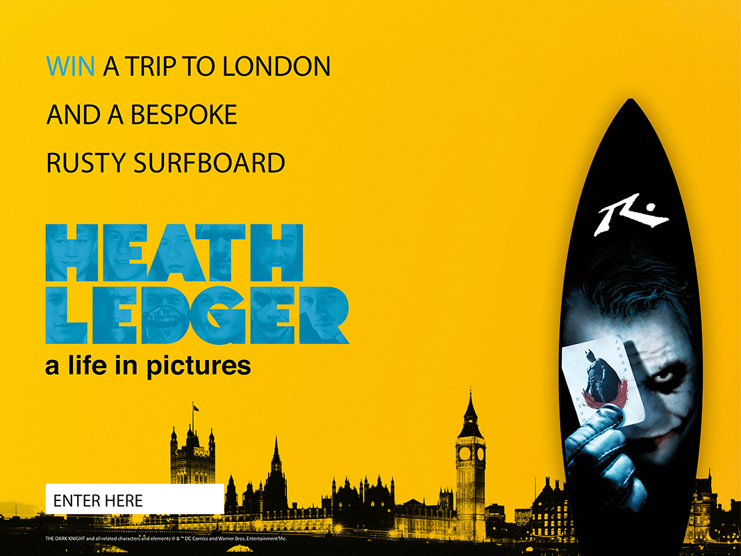 Heath Ledger A Life in Pictures Competition