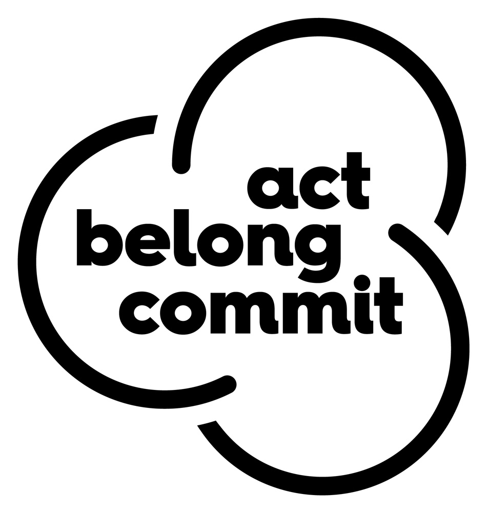 Act Belong Comitt logo