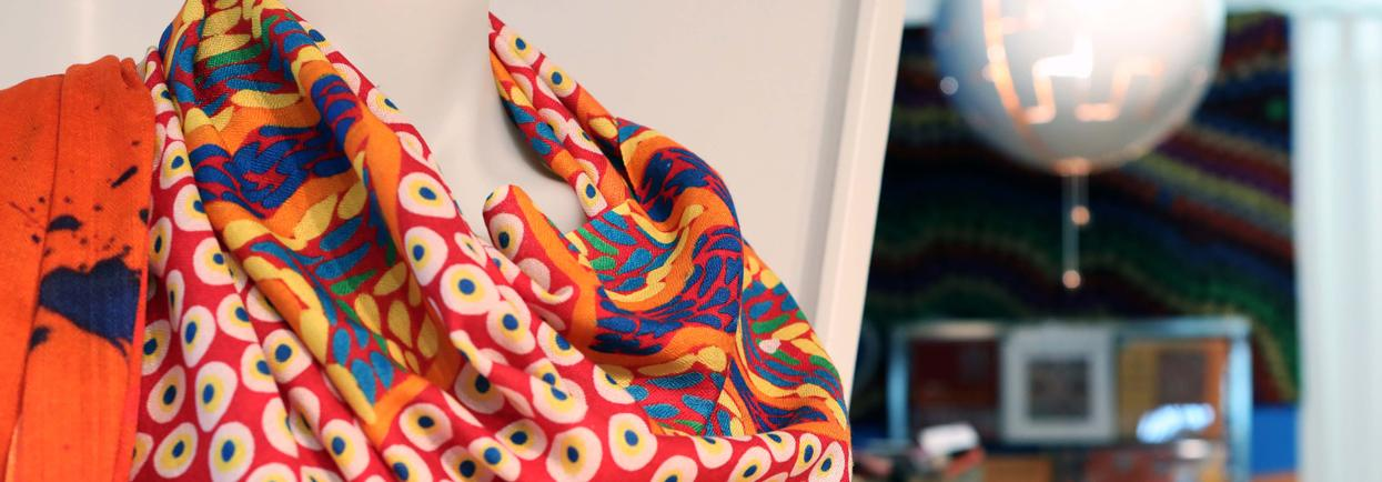 scarves for sale at AGWA Shop