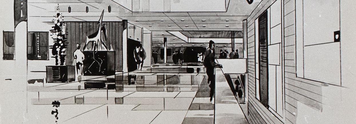 Summerhayes & Associates with Frank Norton 1967. Plan for the Western Australian Art Gallery.