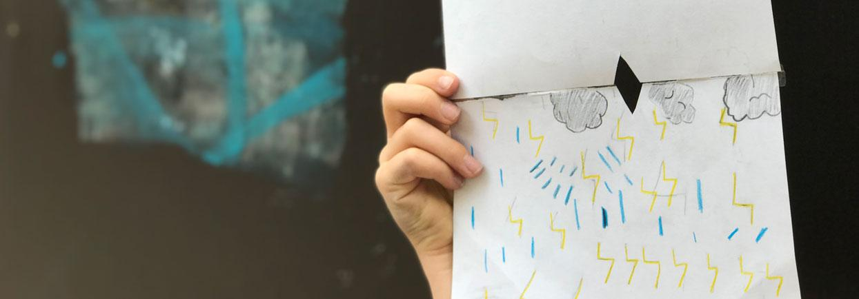 Conversations with Rain art activity