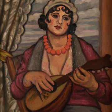 Mark Gertler The Song 1932 (detail).
