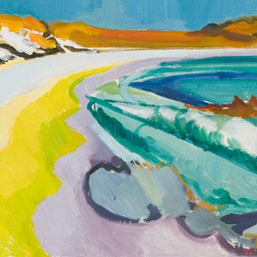 Guy Grey-Smith Longreach Bay, Rottnest 1954 (detail)