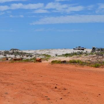 Red dirt outback Australia