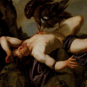 Traditionally attributed to Anthony van Dyck (Antwerp 1599-London 1641) Prometheus and the Eagle early 17th century (detail). Oil on canvas, 1100 x 1610mm. Galleria Corsini, Florence