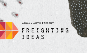 Freighting Ideas title treatment