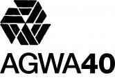 AGWA 40 logo